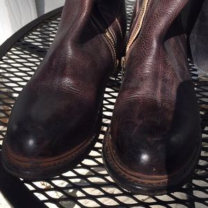 Bed Stu Shoes - Bedstu Manchester knee high leather boots 8.5